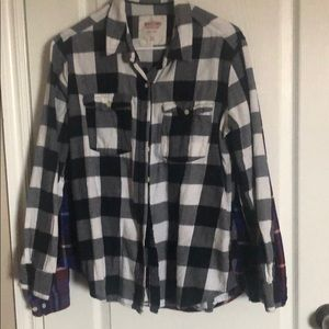 Checkered flannel